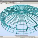 Modello strutturale cupola