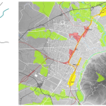 City of Turin, the strategic transformation plan: the extended central spine.
